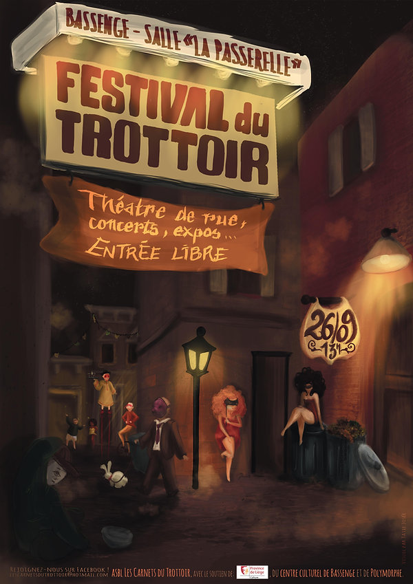 Festival du Trottoir 2015 - Les Carnets du Trottoir