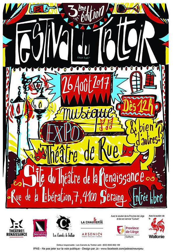 Festival du Trottoir 2017 - Les Carnets du Trottoir