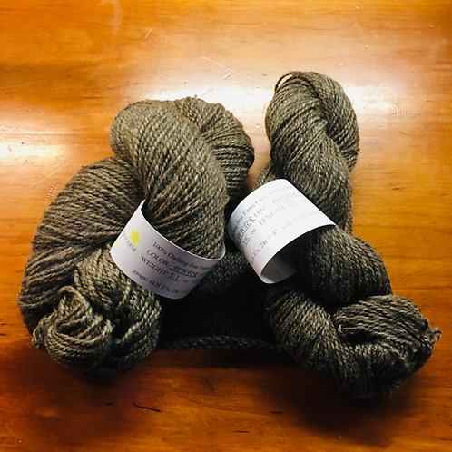 DSF Crossbreed Pewter 2-ply DK