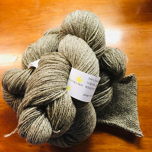 DSF Crossbreed x Coopworth Silver & Gold 2-ply DK