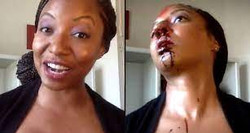 Girl Goes Psycho During Makeup Tutorial