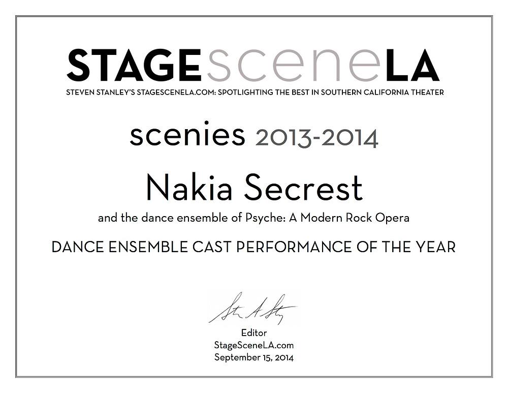 Nakia - Secrest - Scenie- Scenies - Stage- Scene - LA - 2014 - Steven - Stanley