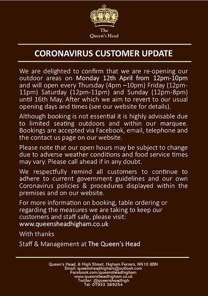 2021.03 Coronavirus Social Media Notice