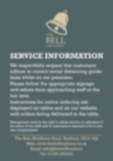2020.05 Bell - Service Notice Poster - w