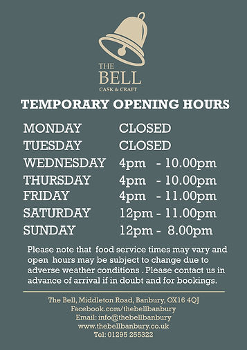 2021.04- Temporary Bell- A1 Open Hours P