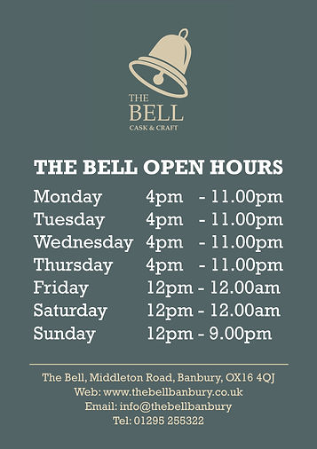 2021.05 Bell - A1 Open Hours Poster - we