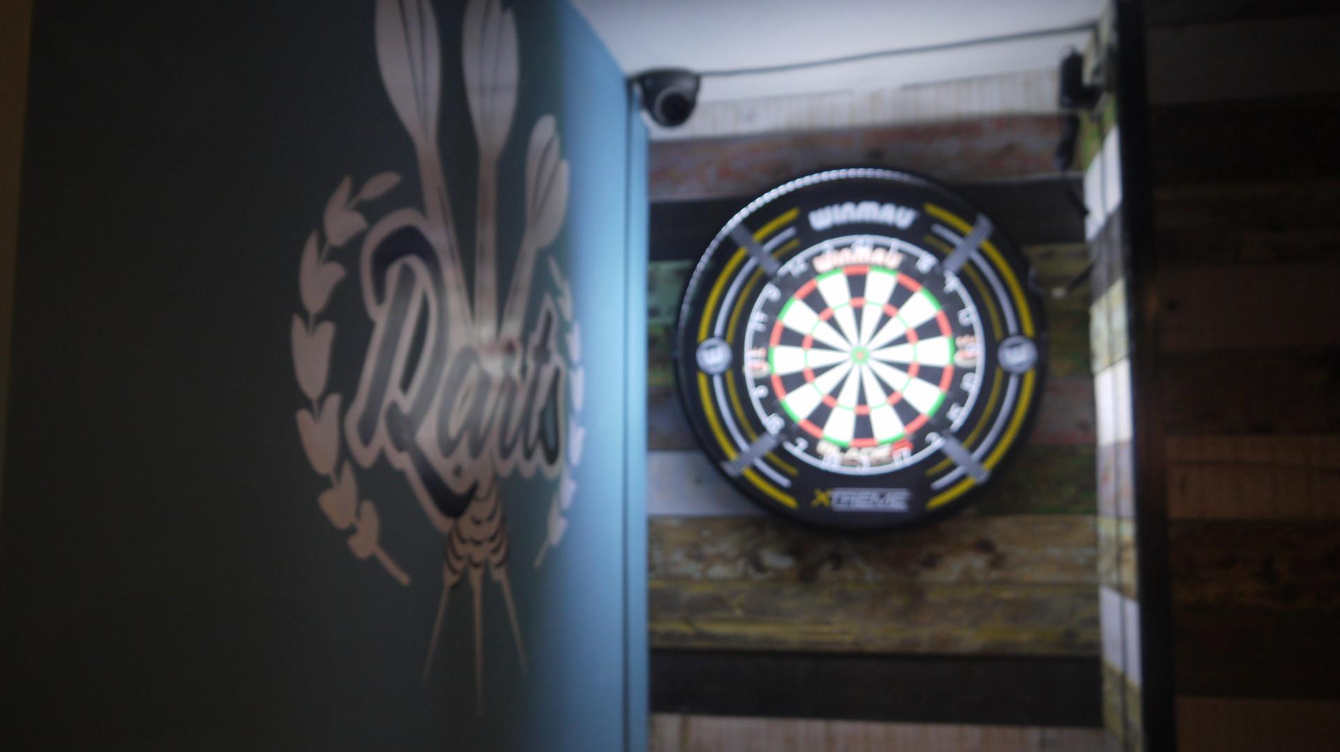 Bell's winning darts