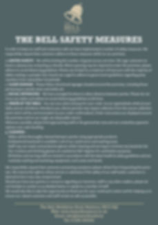 2020.07 The Bell - Re-Opening Safety Mea