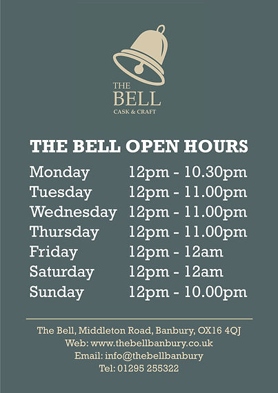 2020.05 Bell - A1 Open Hours Poster - we