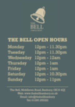 2019.08 Bell - A1 Open Hours Poster - we