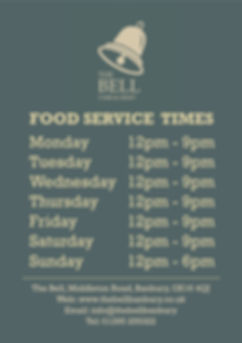 2019.03 Bell - Food Service Times Poster