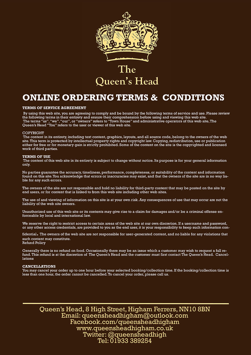 2020.05 Queens - Web Order Service Terms