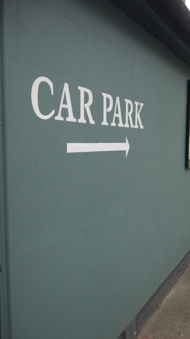 On site car park