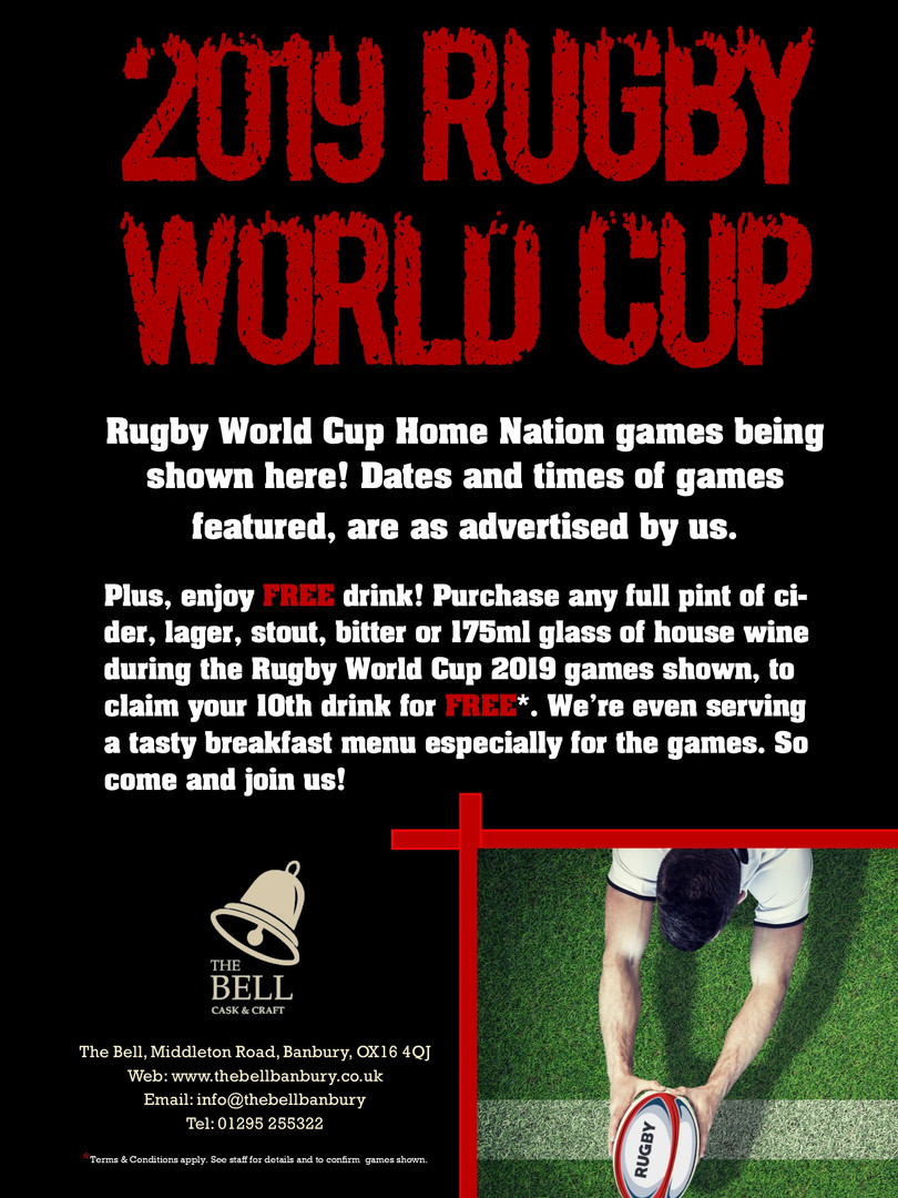 2019 Rugby World Cup - Bell - Facebook A