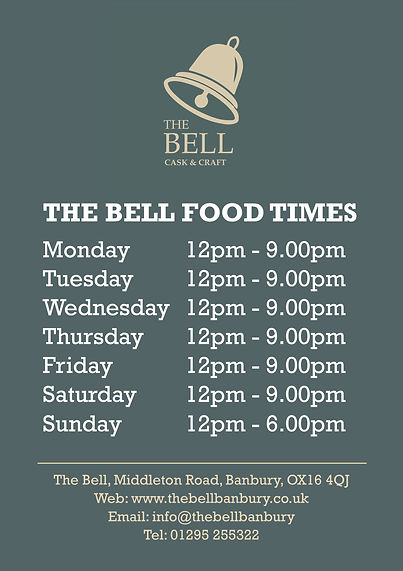 2020.05 Bell - A1 Food Times Poster - we
