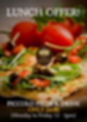 2019.07 Pizza  - Lunch Offer - Queens He
