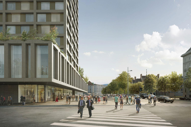 © Projektentwickler: WertInvest / Entwurf: Isay Weinfeld und Sebastian Murr / Rendering: nightnurse