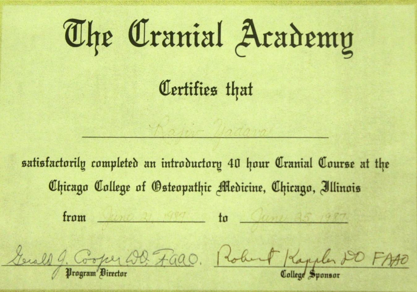 The Cranial Academy