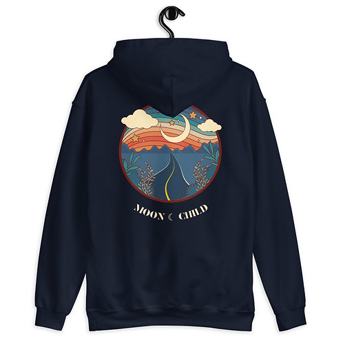 Dream moon child Unisex Hoodie