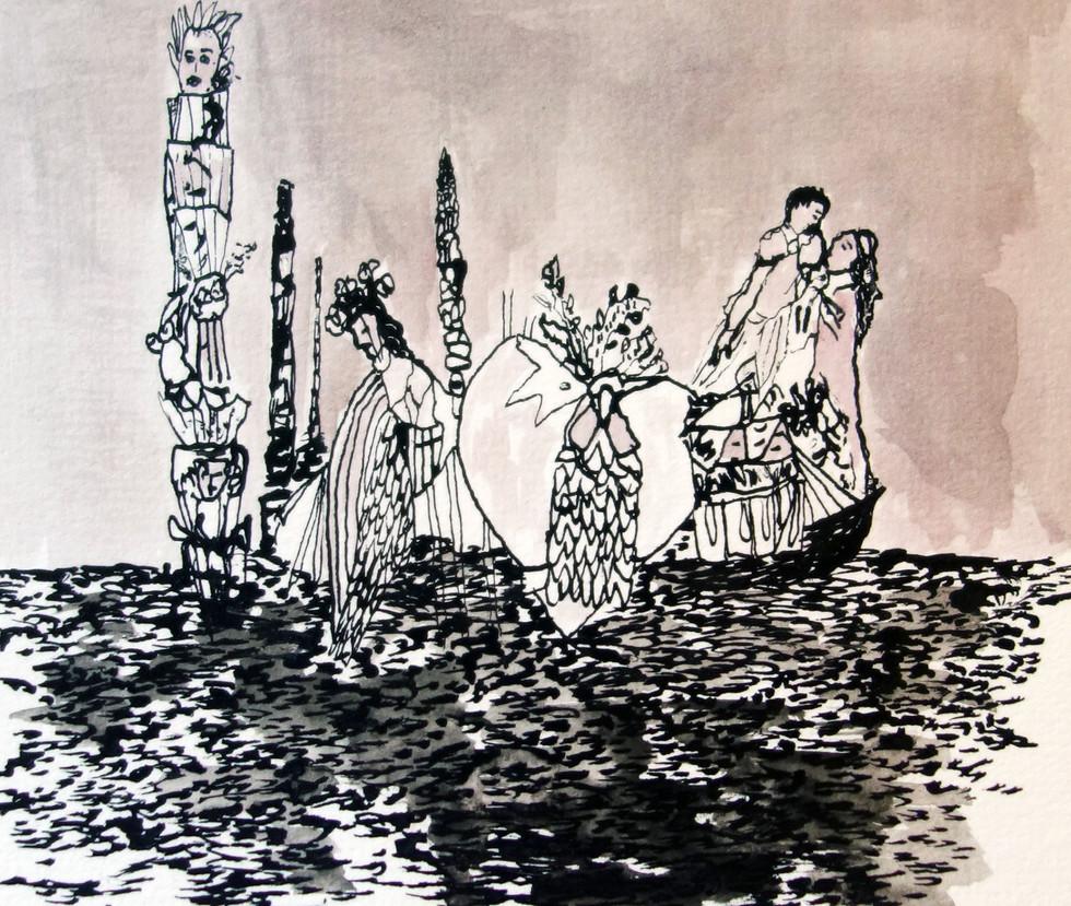 Ghalamqar d'Emmanuelle Rosso