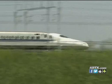 Texas high speed rail project gains national attention