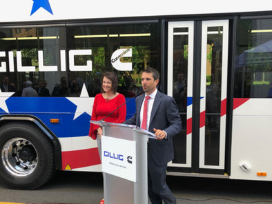 APTA Mobility 2019: GILLIG's battery electric bus makes its debut