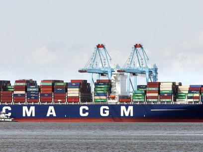 Another monster ship calls on the Port of Virginia