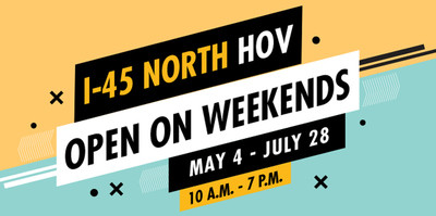 Free Trips on I-45 HOV Lane This Summer