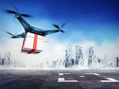 Which major shipping company can now make drone deliveries?