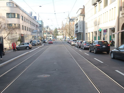 What Does This Street In Zürich Mean?