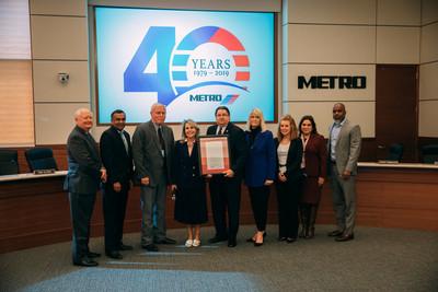 METRO Celebrates Milestone