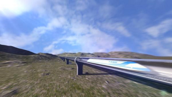 "China dreams of 4,000km/h ""flying trains"""