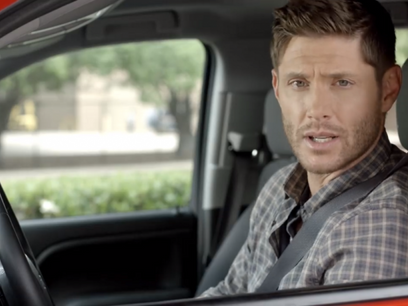 'Supernatural' Star Jensen Ackles Partners with the Texas Department of Transportation for Distracte