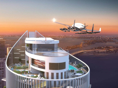 This Luxury Miami Building Boasts a Skyport That's Fit for the Jetsons