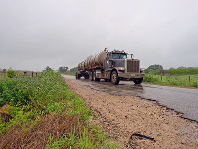 Texas is making billions from oil and gas drilling, but counties say rural roads are being destroyed