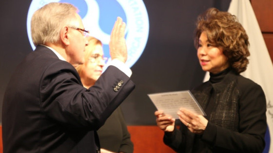 Ronald L. Batory Sworn in as Administrator of the Federal Railroad Administration