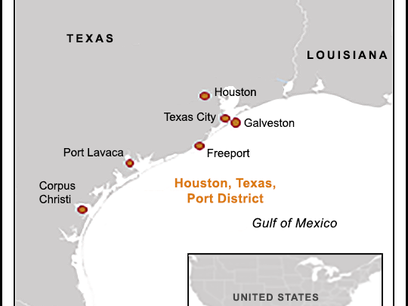 Houston-Galveston Port's Oil Exports Exceed Imports in April for First Time