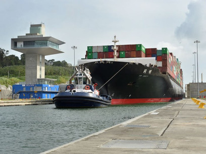 Panama Canal Sets Back-to-Back-to-Back Tonnage Records