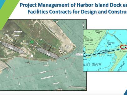 New Terminal To Cut Into Harbor Island in Port Aransas
