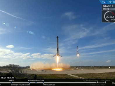 WATCH: SpaceX Successfully Launches Most Powerful Rocket In Decades