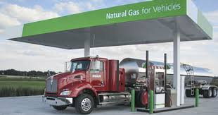 Natural gas-powered trucks are well ahead of electrification