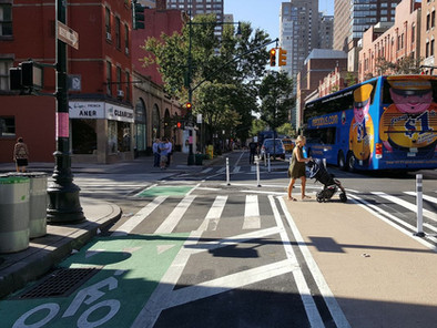 NYC designs the future of safer intersections for cyclists