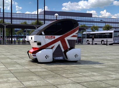 US firm Aecom leads driverless pods research in UK