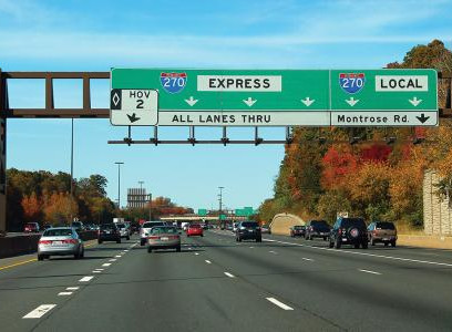 Impacts of connected and automated vehicles on I-270 in Maryland