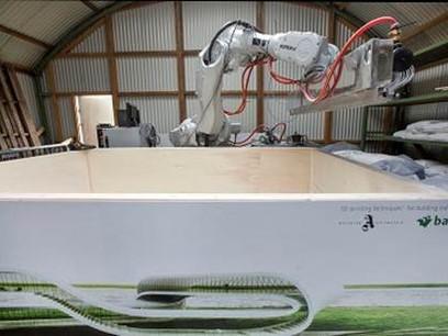 BAM reveals world's first autonomous robot 3D printer