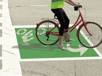 Bicycle turn boxes could be a new way to keep cyclists safe