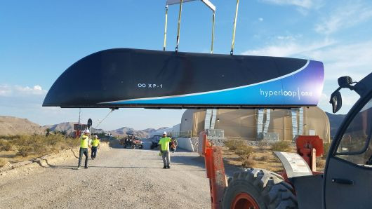 Virgin Hyperloop tickets will cost 'no more than a high-speed trainline,' Richard Branson sa