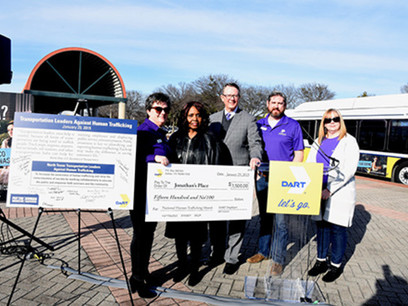 DART Highlighted Efforts to Combat Human Trafficking at Event on January 29