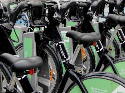 Study finds bike sharing could increase light-rail transit ridership