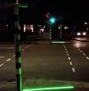 SAFETY: Dutch town testing out traffic lights for distracted pedestrians
